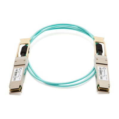 100GBASE-AOC QSFP Active Optical Cable 15m - Juniper compatible