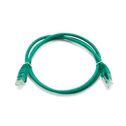 Cat6a Ethernet Patch Cable, Shielded FTP, Latch Protection Boot