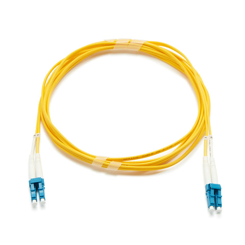 Fibre Optic Singlemode OS2 LC-LC PVC Patch Cable - 10M