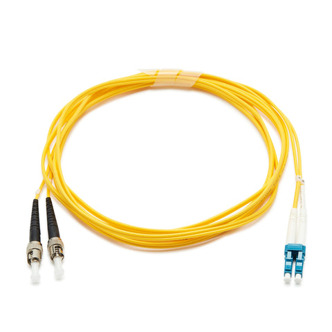 Fibre Optic Singlemode OS2 LC-ST PVC Patch Cable - 2M