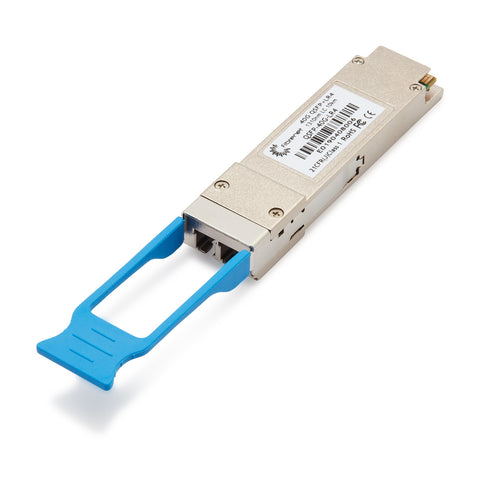 40GBASE-LR4 QSFP OTN Transceiver, LC, 10km DOM - Brocade compatible