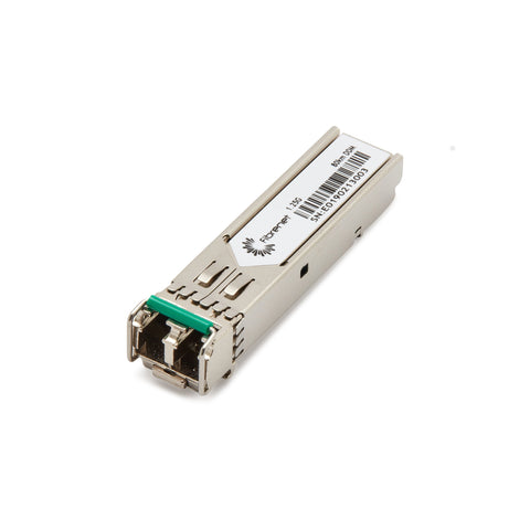 CWDM XXXXnm SFP Gigabit Ethernet and 1G/2G FC, 80km.  Please call for wavelength specification and vendor compatibility.