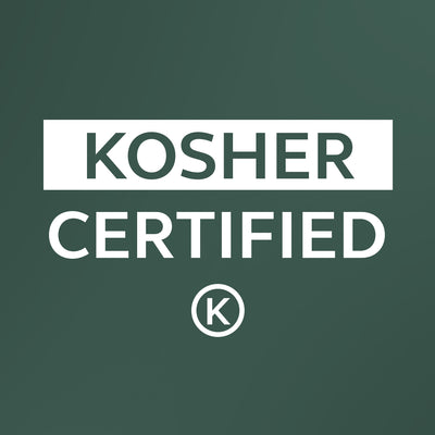 We are now Kosher Certified!