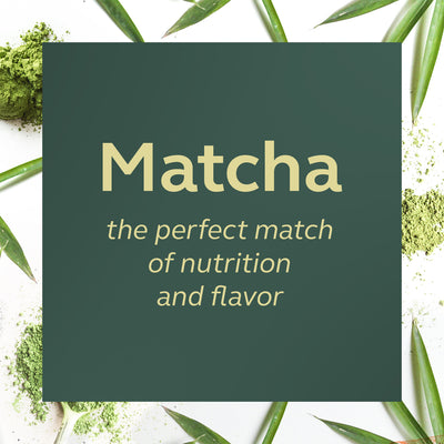 Matcha - the perfect match for nutrition and flavor