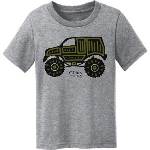 Toddler Truck T-Shirt w/6 Pack Chalk