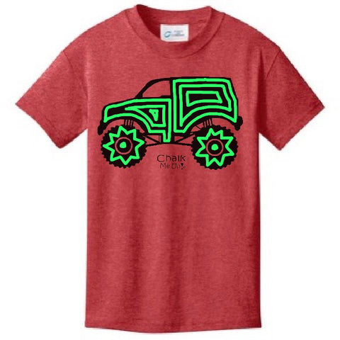 Youth Truck T-Shirt w/3 Chalk Markers