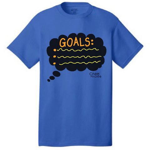 Adult Men's Speech Bubble Tshirt w/3 Chalk Markers