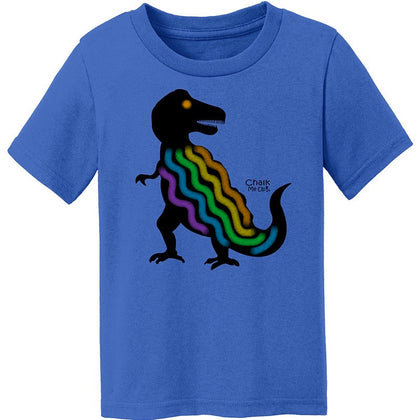 Toddler TREX T-Shirt w/6 Pack Chalk