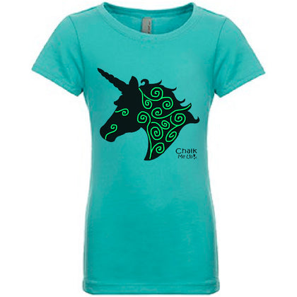 Youth UnicornT-Shirt w/3 Chalk Markers