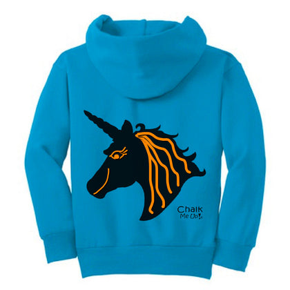 Youth Unicorn Hoodie w/3 Chalk Markers