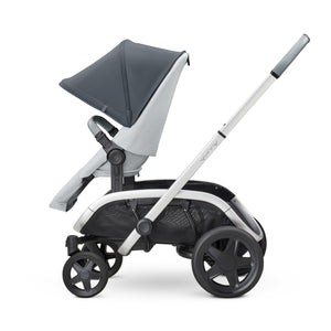HUBB STROLLER - Graphite on Grey