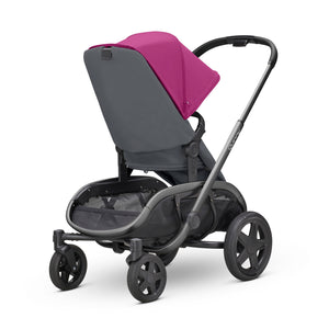 HUBB STROLLER - Pink on Graphite