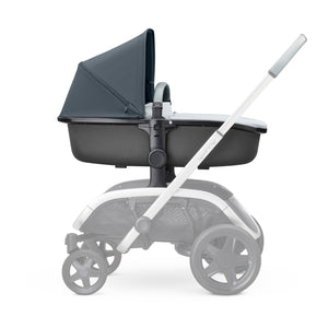 HUXX CARRYCOT - Grey on Graphite