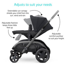 Load image into Gallery viewer, HUBB STROLLER - Navy on Grey