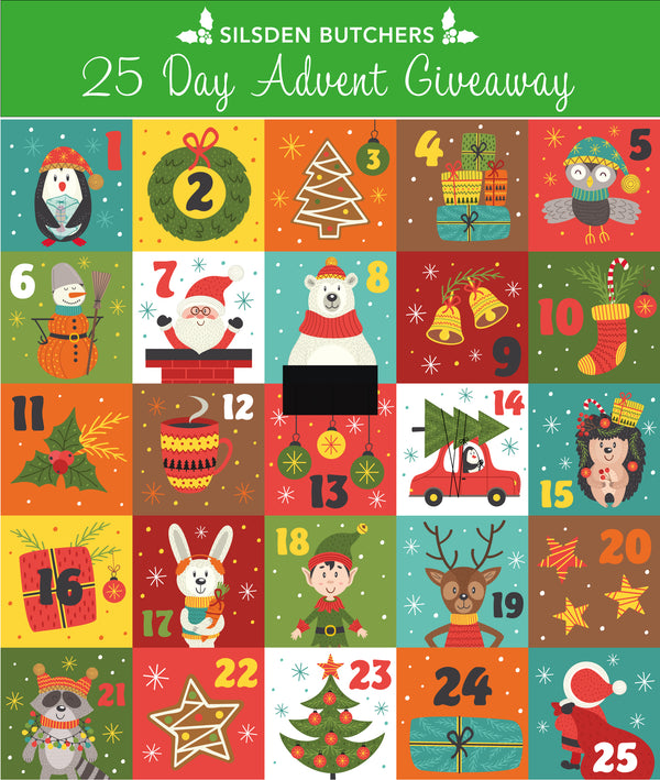 25 Day Advent Giveaway