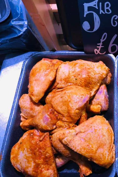 5LB BBQ Chicken Portions - Wholesale