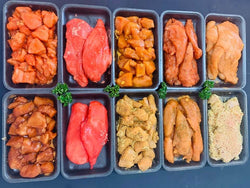 Chicken Prep Table Flavoured