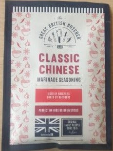 Great British Butcher Marinade Seasoning - Classic Chinese
