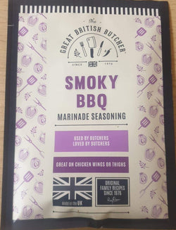 Great British Butcher Marinade Seasoning - Smoky BBQ