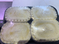 4 x Steak & Onion Pies