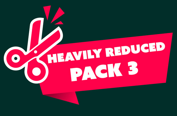 Heavily Reduced Pack 3