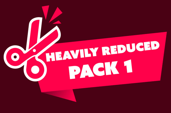 Heavily Reduced Pack 1