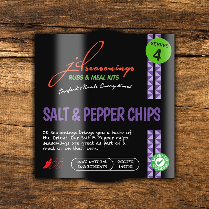 JD Seasonings - Salt & Pepper Chips