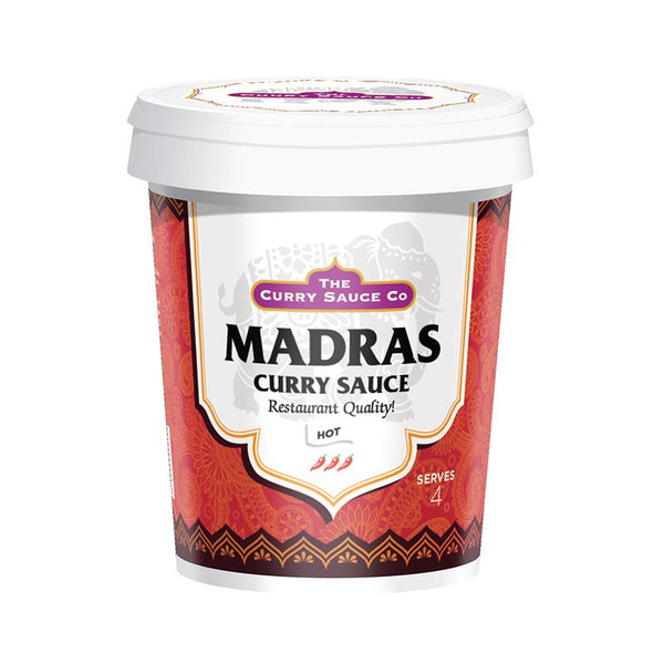 The Curry Sauce Co - Madras Curry Sauce