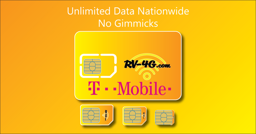 30-Day T-mobile Trial Plan | RV-4G