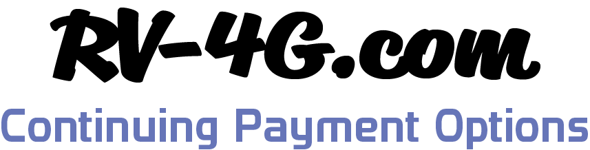 Continuing Payment Options - RV-4G.com