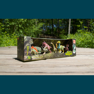 "Box Set ""Jungle"" (6 dinosaurs)"