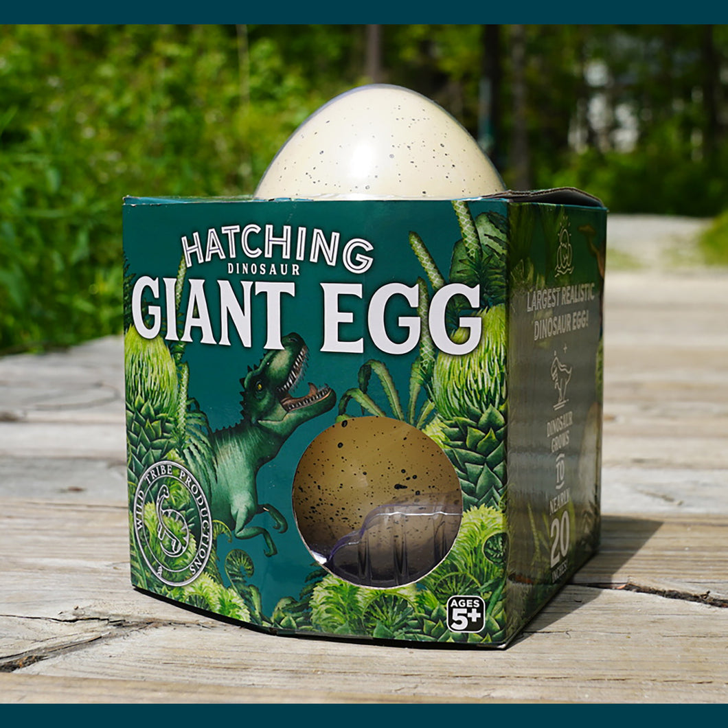 Giant Hatching Dino Egg