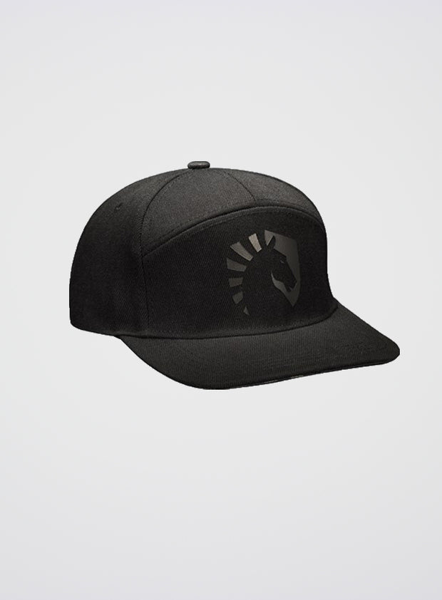 Team Liquid Snapback Cap Dark Horse Black on Black