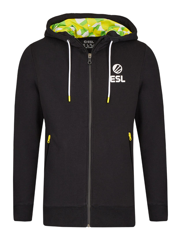 ESL Premium Zip Up Hoodie Black