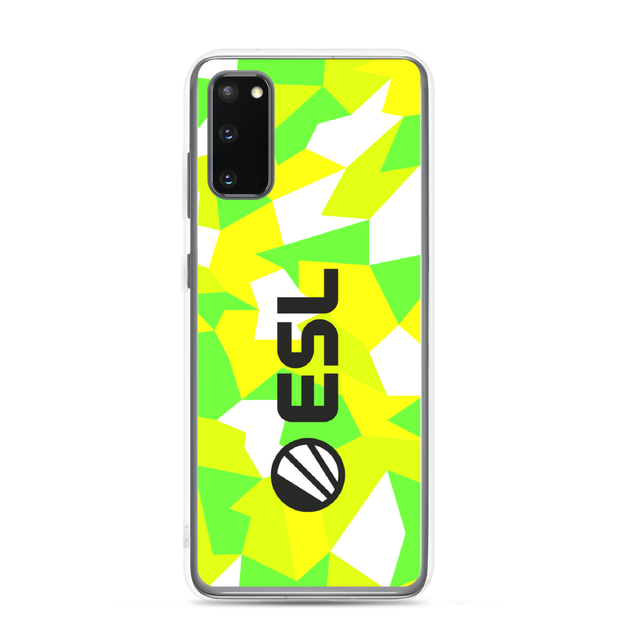 ESL In Color Samsung Case allover Camo
