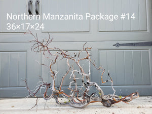 Northern Manzanita Wood Package 14