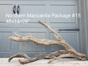 Northern Manzanita Wood Package 15