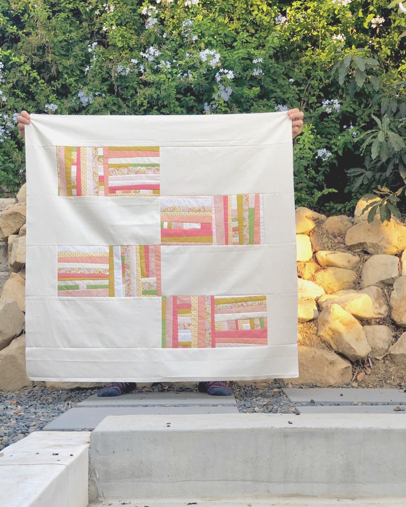 Framework Quilt- Blooming Poppies