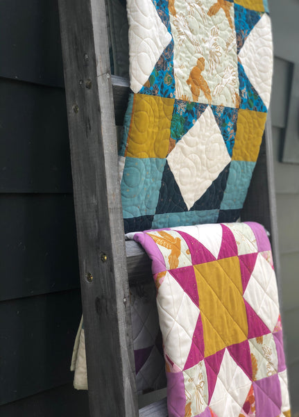 Urban Light Quilt- Blooming Poppies