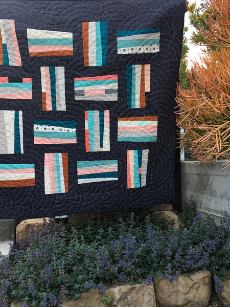 Guard Rails Quilt- Blooming Poppies