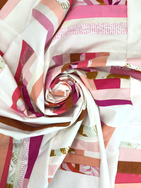 Guard Rails Quilt swirl