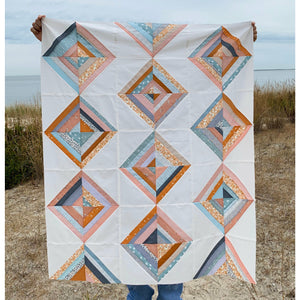 quilt top by Claudia @thetuftedduckling