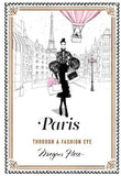 'Paris Through a Fashion Eye' By Megan Hess