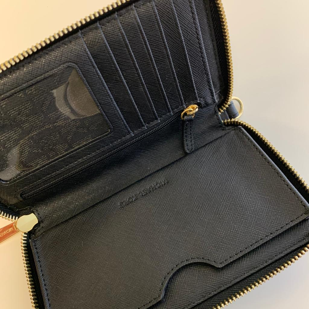 Michael Kors small black Saffiano purse