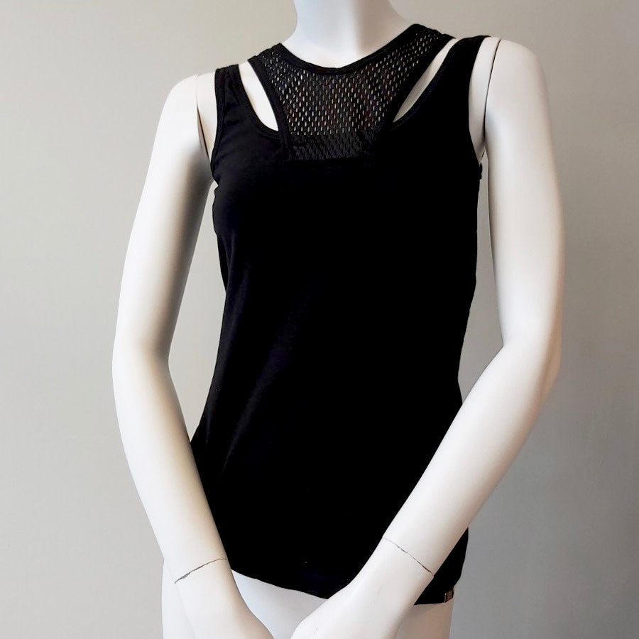 Gucci Black Gym Top size 8