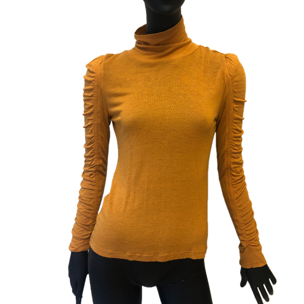 See By Chloe Ocra High Neck Top Size 10