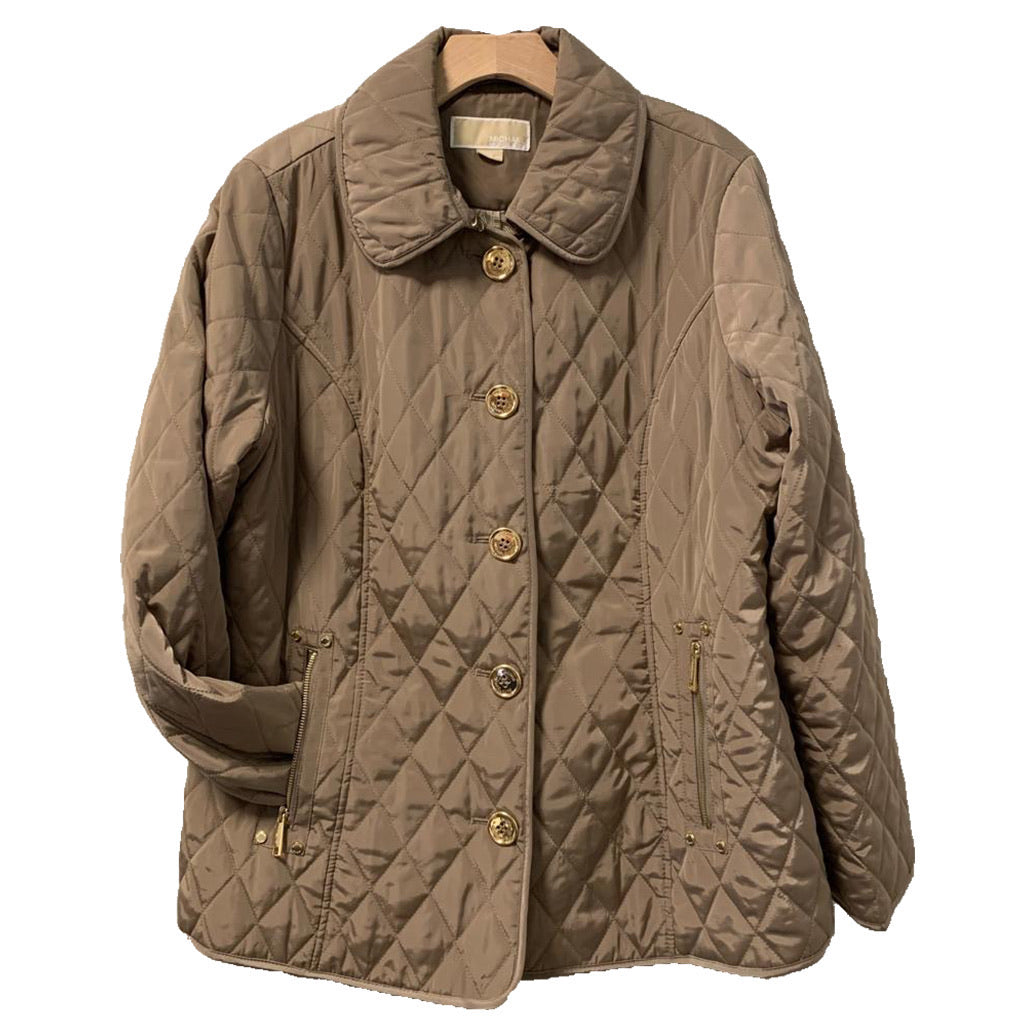 Michael Kors Quilted Jacket Size XL C