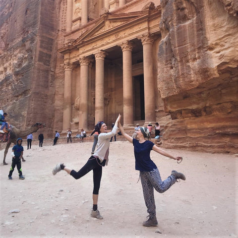 Picture in front of Petra