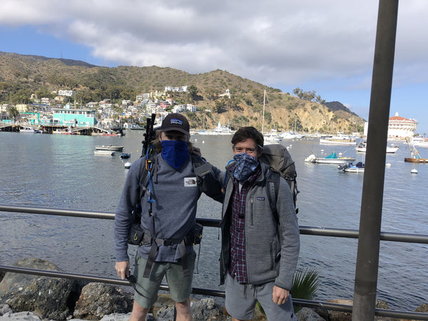 Brian and his Mate - Trans Catalina Trail