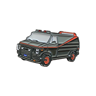 A-Team Van Enamel Pin